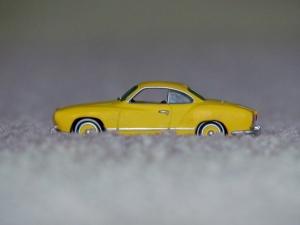 Orange yellow 1970 Karmann Ghia