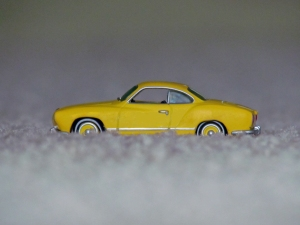 Orange yellow 1970 Karmann Ghia