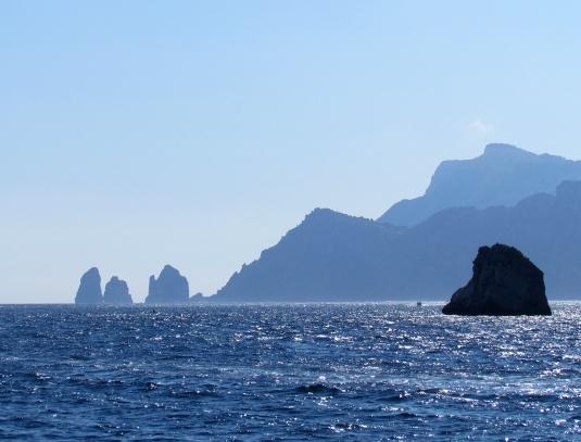 Off the Amalfi Coast, Italy