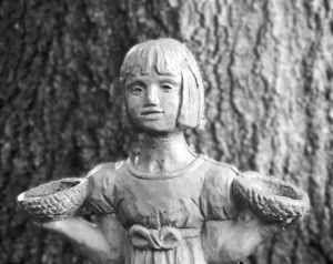 Statue from in the garden of good and evil