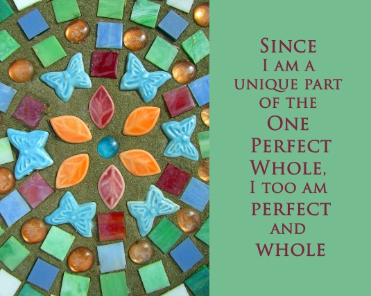 affirmation about oneness
