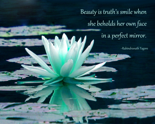 Rumi quote about beauty.