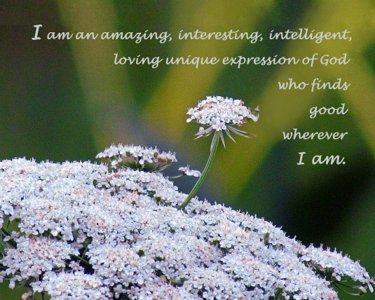Affirmation about who I am.