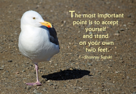 Zen quote about being yourself.