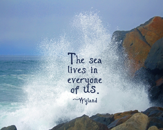 Wyland quote about the sea.