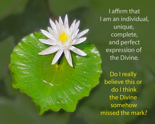 Affirmation about Divine Expression