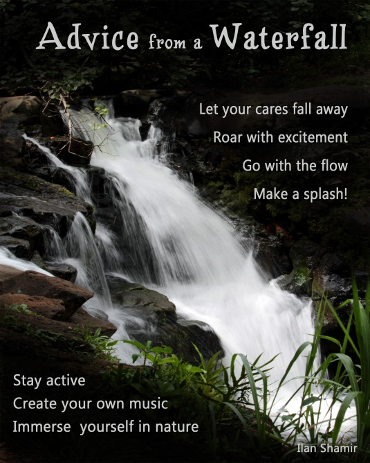 Advice from a Waterfall