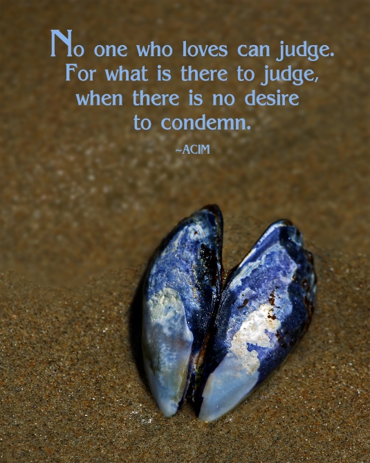 ACIM quote about judgment