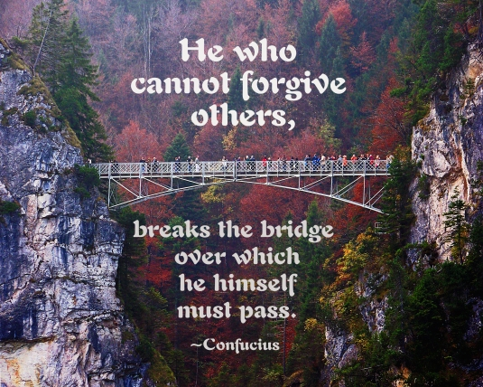 Confucius quote about forgiveness.