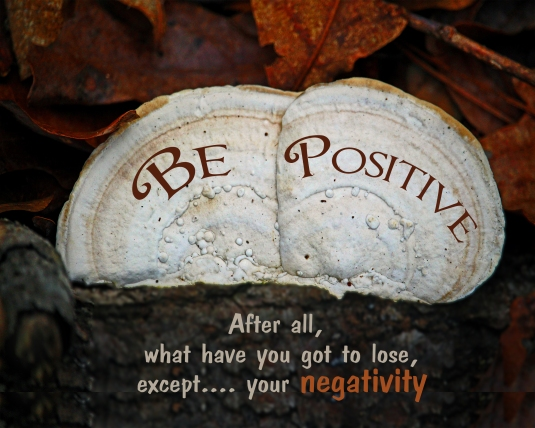 Mindfulness quote about having a positive attitude.
