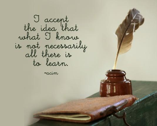 ACIM quote