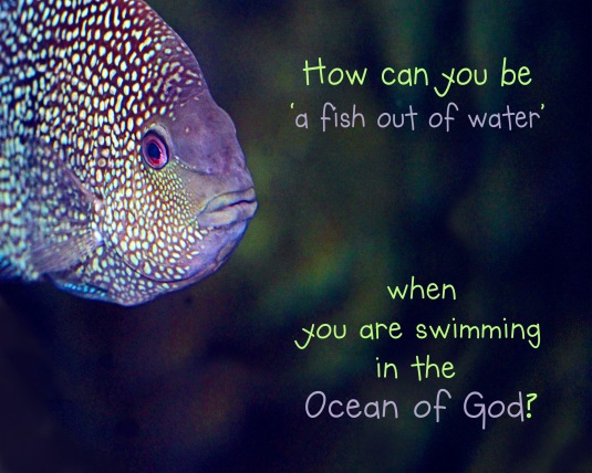 An inspirational quote about our oneness with God.