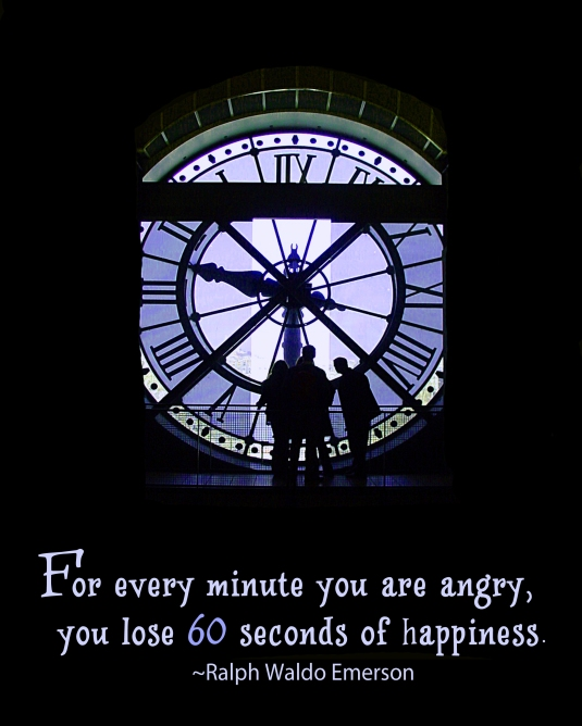 Ralph Waldo Emerson quote about anger.