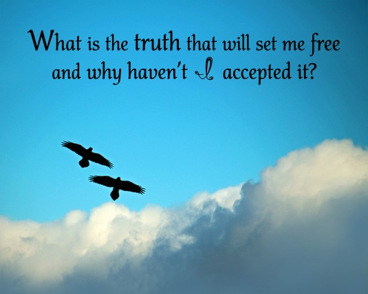 A questions to ask yourself about the truth that will set you free.