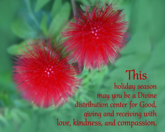 A blessing about giving and receiving love, kindness, and compassion.