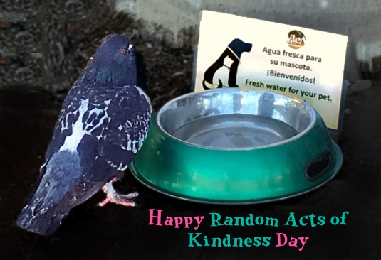 Happy Random Acts of Kindness Day