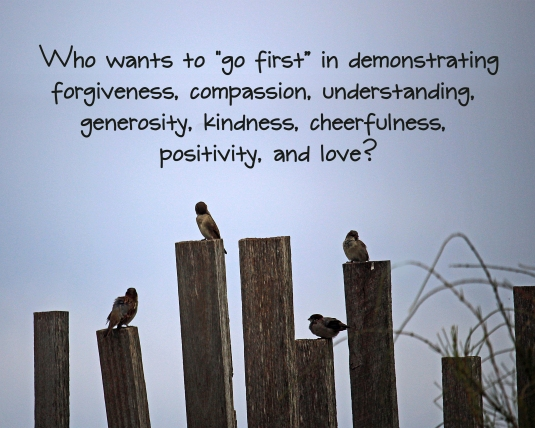 A question we all need to ask ourselves about forgiveness, kindness, and love.