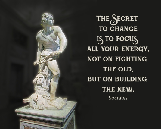Socrates quote about change.