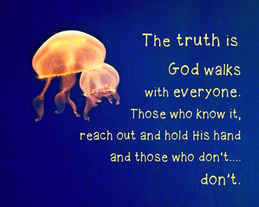 An inspirational message about walking with God.