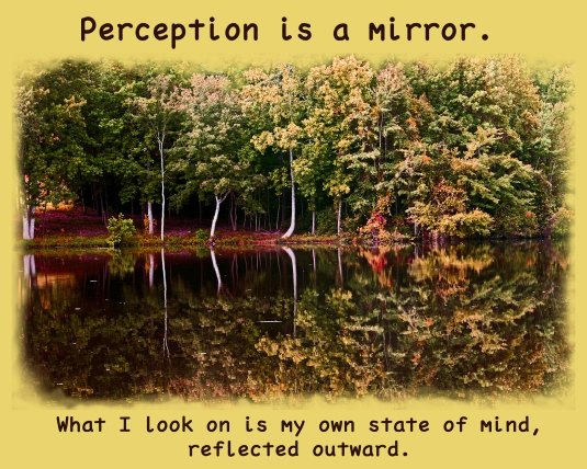 ACIM quote about perceptions