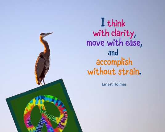 An affirmation from Ernest Holmes