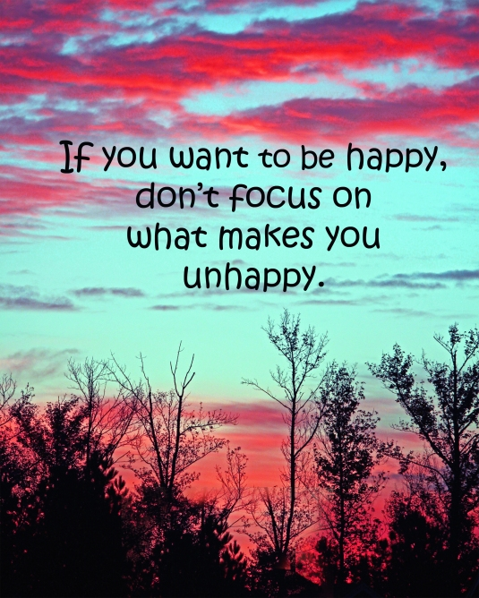 An inspirational quote about happiness.