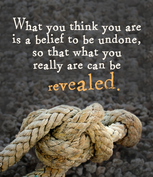 An inspirational quote about our mis-beliefs about ourselves.