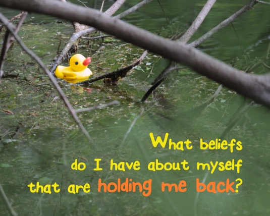 An insightful question about the beliefs that hold us back.