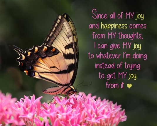 an inspiration quote about joy and happiness.